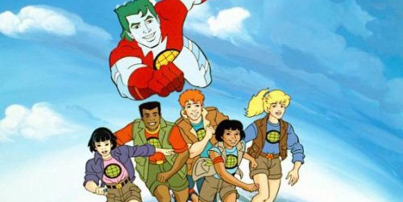 Captain Planet via http://bigkidsbignews.ning.com/