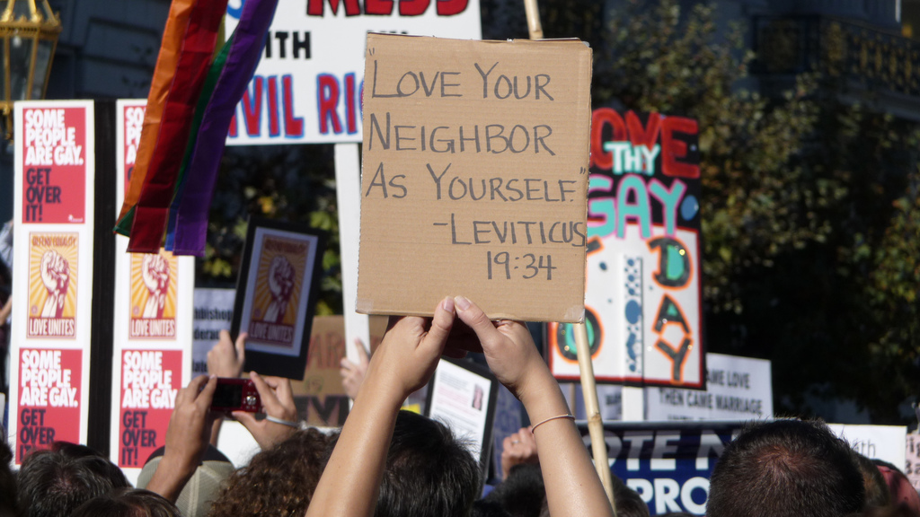 Leviticus 19:34 by Cary Bass via Flickr
