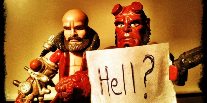 Hell Is Coming Here: Cthulhu Cosmology in Hellboy