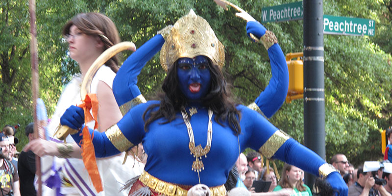 Kali in Parade