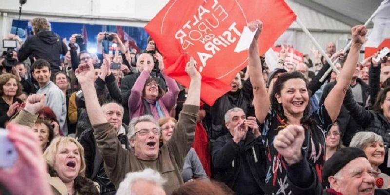 """Tsipras, Syriza!"""