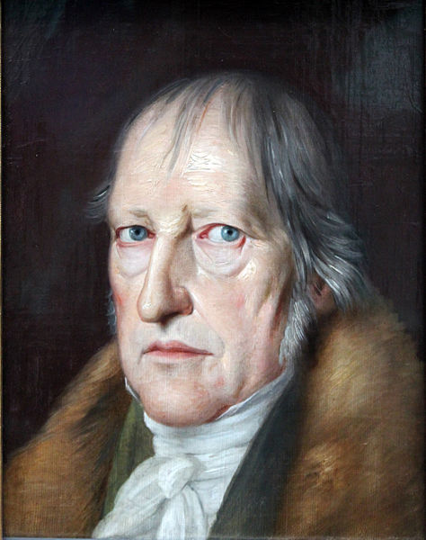 """The Philosopher Georg Friedrich Wilhelm Hegel"""