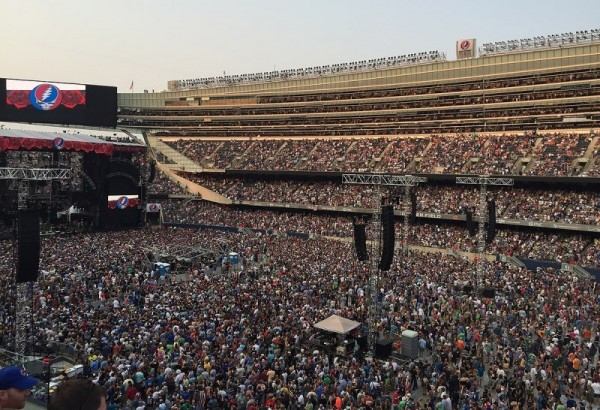 Grateful Dead concert, Solider Field, Chicago