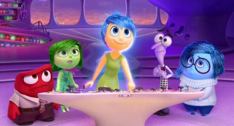 Inside Out characters, ©Disney Pixar, 2015