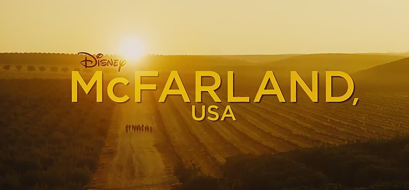 "Screenshot: ""McFarland, USA"" opening sequence. © Disney, 2014"