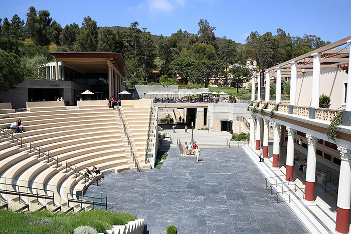 The Barbara and Lawrence Fleischman Theater at the Getty Villa