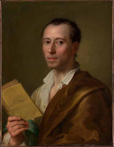 Portrait of Johann Joachim Winckelmann