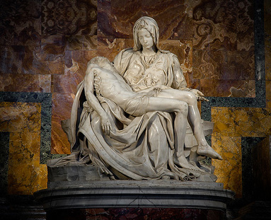 Chapel of the Pieta, St Peters Basilica