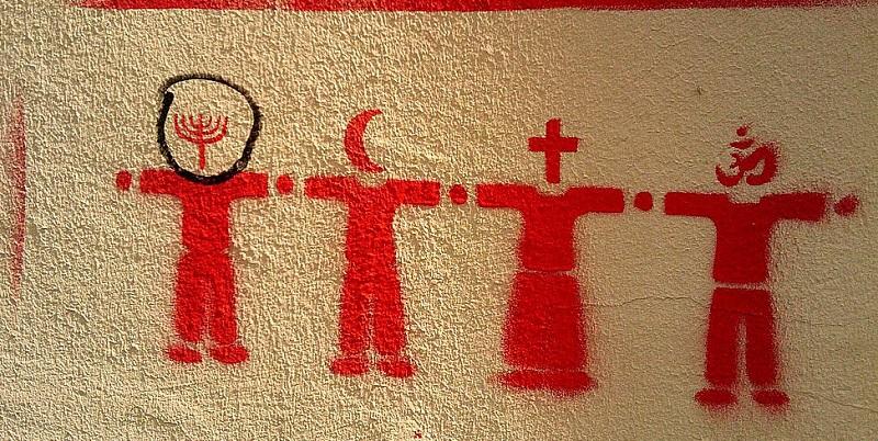 Religion Stencil (2010, Graz)