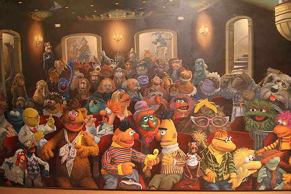 Muppets Mural, Jim Henson Studios