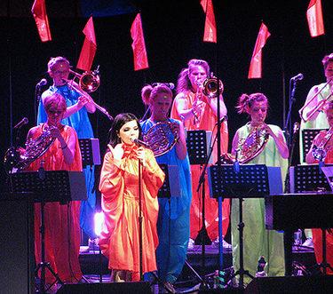 Björk at Radio City Music Hall