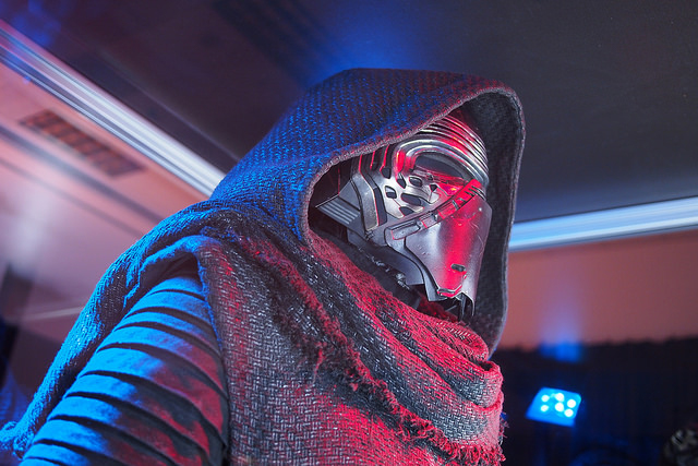 Kylo Ren. Image by Flickr User .solo, 2015. Available via Flickr CC BY-NC-SA 2.0.