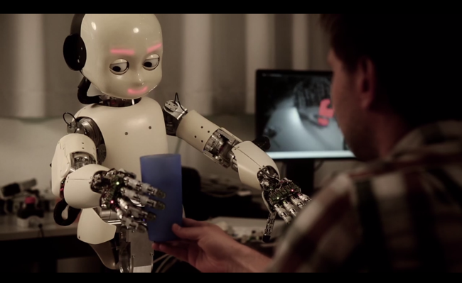Image taken from a video recorded at a robotics lab in Lugano Switzerland by user Juxi. Commons License by CC BY-SA 3.0