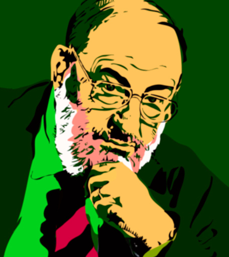 """Umberto Eco"" by Flickr user giveawayboy, March 24, 2009. Available via Flickr."
