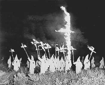 A Ku Klux Klan meeting in Gainesville, Florida, Dec. 31, 1922. By Flickr user Image Editor Creative Commons License by CC BY 2.0