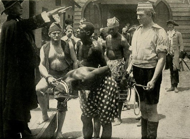 "Still from ""The Birth of a Nation"" (1915) Public Domain Image"