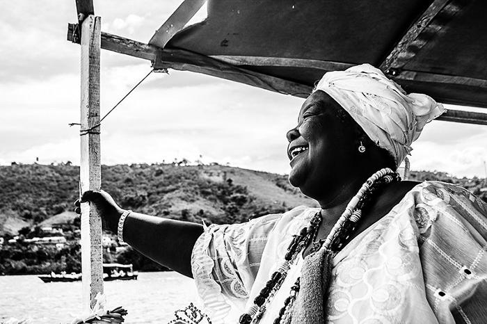 """""""O sorriso de Mãe Preta: Uma homenagem ao Dia Internacional da Mulher Negra, Cachoeira, Bahia, 2014."""" Image by Amanda Oliveira, February 9, 2014. Available via Flickr."""