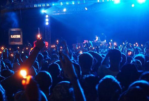 Mos Def (aka Yasiin Bey) and Talib Kweli revive their Black Star collaboration Friday night at Bonnaroo. Jon Elbaz via Wikicommons.