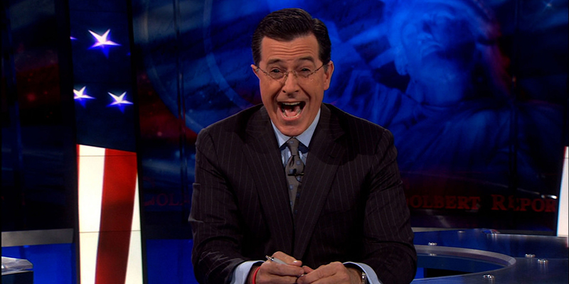 Maybe It's Colbert's Fault