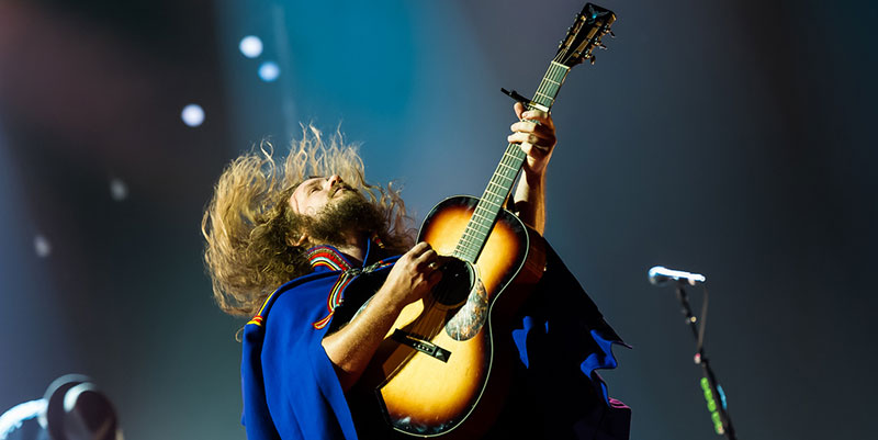 Jim James' Musical Blend of the Religious, Spiritual, and Secular