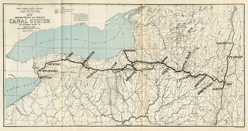 Watering the Roots of Mormonism:  The Erie Canal's Contribution to the Faith