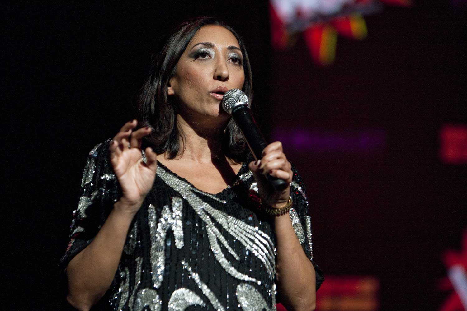 When Orientalist Fear Meets Post-Colonial Incongruity:  The Veil Simplified through Stand-Up